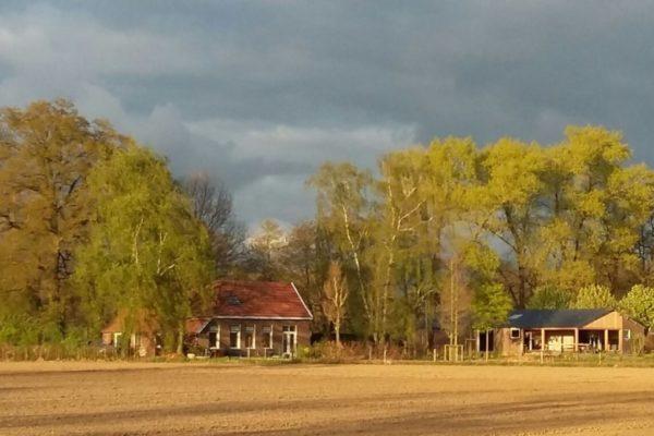 Achterhoekse boerderij de energiezuinig gemaakt wordt