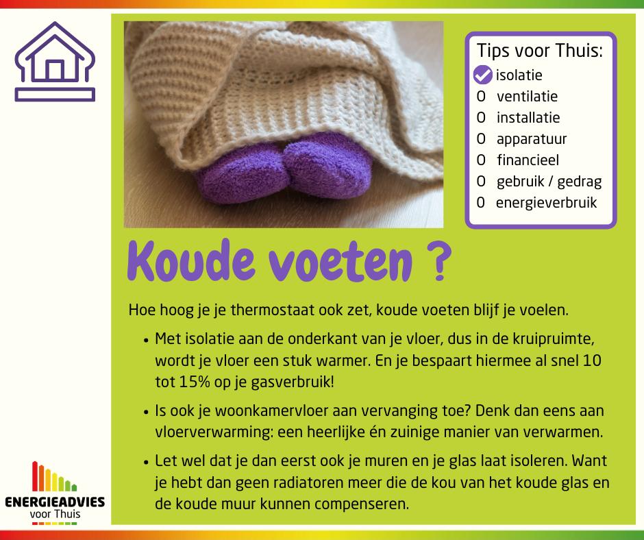 Tip voor Thuis: hoe krijg je een warmere vloer?
